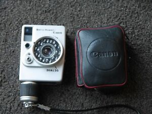 Canon Dial 35 Bell & Howell half frame camera