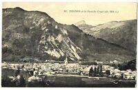 CPA 74 Haute Savoie thônes et dent du Cruet