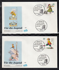1994 GERMANY FDC -  Youth Welfare Comics / The Struwwelpeter / Cats