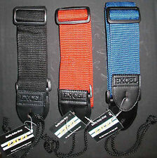 GUITAR STRAPS very strong nylon FANTASTIC DEAL 3 COLORS
