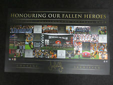20 Years Of The ANZAC Rivalry – Signed Collingwood Lithograph Pendlebury