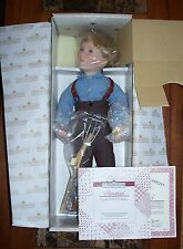 Little House On The Prairie  ALMANZO Doll MIB + COA Ashton-Drake Galleries