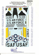 Superscale Decal 48-885 N.A. F-86D-50-NA Sabre
