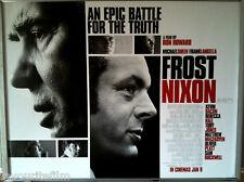 Cinema Poster: FROST NIXON 2009 (Main Quad) Michael Sheen Frank Langella