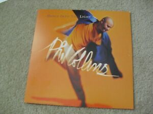 Original 1990s 12x12 Album Double Sided Promo Poster Phil Collins
