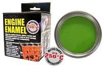 E-Tech High Heat Car Vehicle Engine Gloss Finish Enamel Paint 250ml- Lime Green