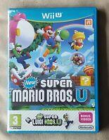 Nintendo Wii U game - Super Mario Bros U + Luigi Bros