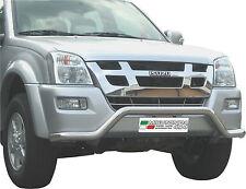 PROTEZIONE ANTERIORE LARGE BAR MISUTONIDA INOX D.63 PER ISUZU D-MAX 4WD CREW '06