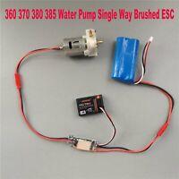 Wasser Pumpe Single Gebürstet ESC für DIY RC Jet Boote Schalter 360 370 380 385