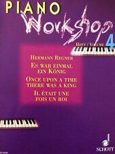 Hermann Regner - Piano Workshop - Heft 4