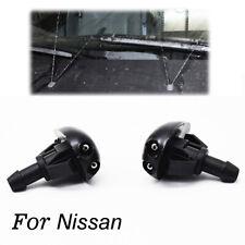 2Pcs/set Front Windshield Washer Nozzle Jet For Navara D22 Silvia 200sx S14 S15