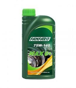 1L FANFARO MAX 6+ 75W-140 Fully Synthetic Gear Oil API GL-5 MIL