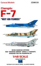 """Caracal Decals 1/48 CHENGDU F-7 """"NEXT GEN FISHBEDS"""" Chinese MiG-21"""