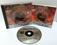 Mortal Kombat Trilogy ~ Sony Playstation PS1 Platinum Game ~ PAL *Excellent CIB*