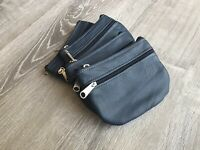 Coin Leather Bag, Mini Pouch Purse, Cosmetic Bag Retro Style