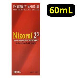 Nizorall 2% Anti-Dandruff Treatment 60mL Shampoo Seborrhoeic Dermatitis