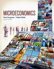 Microeconomics by Paul Krugman and Robin Wells (2014, Paperback, Revised)