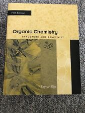 Organic Chemisty: Structure and Reactivity, Seyhan Ege, 5th Edition, 2009