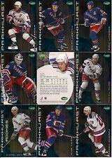 2001-02 Parkhurst by ITG New York Rangers Regular Team Set (15)