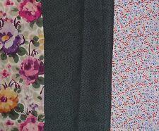 LIBERTY STOFFE STAMPATE cotone tana lawn pacchetto di tessuti x3 pezzi