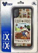 Disney DTech iPhone X XS Case Mickey Seed 2019 Passholder Epcot Flower & Garden