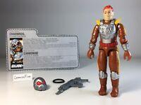 GI JOE - CHARBROIL V1 - 1988 Original Vintage ARAH Hasbro Action Figure