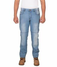 Mens Motorcycle Aramid Lined Motorcycle Jeans, Free Armours. Biker Jeans 5014.