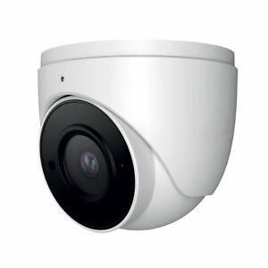 Oyn-X 6MP PoE Network Turret CCTV Camera, VF 2.8-12mm, Built in Mic, White