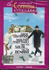 Dvd **NON PER SOLDI... MA PER DENARO ** con J. Lemmon W. Matthau nuovo 1966