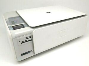 HP Photosmart C4385 All-In-One Inkjet Printer Scanner Copier REFURBISHED!