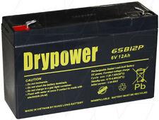 6SB12P 6V 12Ah Sealed Lead Acid Battery BP10-6 BP12-6 PS6100 GP6120 DM6-10