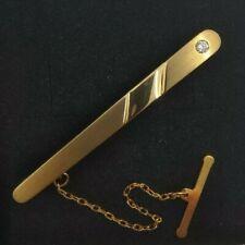 Pasador de corbata oro 18k. 4,30 gramos.