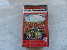 Fußball Heute VHS Training Taktik Spiele FC Bayern München 80er Jahre