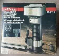 Metz Mecablitz 45CT-5 Stabblitz TELECOMPUTER LEGENDE 45 CT GETESTET!! TESTED