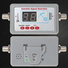 Digital TV Antenna Satellite Signal Finder Meter Searcher LCD Display SF-95DL