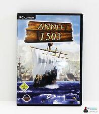 PC Computer Spiel - ANNO 1503 - Win 98, 2000, ME, XP - Komplett in Hülle OVP