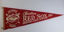1967 Boston RED SOX American League CHAMPIONS Fenway Park MLB Baseball PENNANT