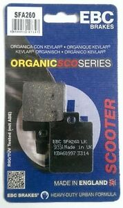 EBC Organic REAR Brake Pads Fits PEUGEOT SPEEDFIGHT 50 (H Tong / 1997 to 2008)