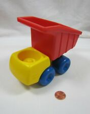 Little Tikes TODDLE TOTS Vintage Red & Yellow CONSTRUCTION DUMP TRUCK Rare!