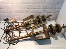 Vintage Messing umgebaute Kutscherlampen elektrisch ca 56cm #40072#