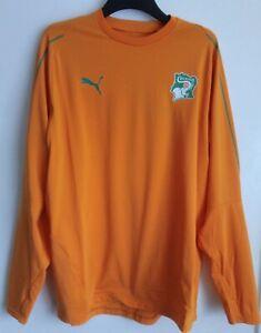 BNWT Puma Ivory Coast Home Football Sweat shirt, Mens XL Cote d'Ivoire, Africa