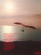 POSTER : SPORTS :TESTAMENT OF A HANG-GLIDER -  FREE SHIPPING !  #H10102   RC54 i