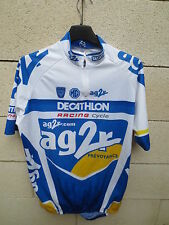 Maillot cycliste AG2R DECATHLON RACING CYCLE Tour France 2004 cycling shirt L