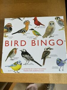 Bird Bingo Game New in sellophane up to 6 players RRP £19.95