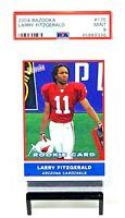 2004 Bazooka Future HOF Cardinals LARRY FITZGERALD Rookie Card PSA 9 MINT Pop 59