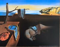 Salvador Dali Persistence Of Memory Poster 11 x 14