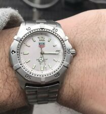 Tag Heuer 2000 WK110 Classic Professional Watch Mens SILVER Mint Crystal