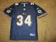 reebok MIAMI DOLPHINS #34 R. WILLIAMS shirt jersey vintage trikot NFL oldschool