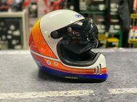 Visiera reclinabile bubble corta bolla casco integrale shoei nexx agv bell