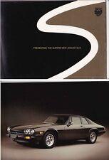 1976 JAGUAR XJ-S US British Leyland Brochure